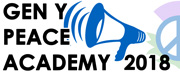 Peace Education - Resources, talks in schools & the Peace Campaigning Academy for Youth 27-29 July 2018
